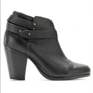 Rag and Bone Harrow Leather Bootie New Size 7
